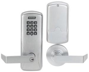 numbered keypad lock