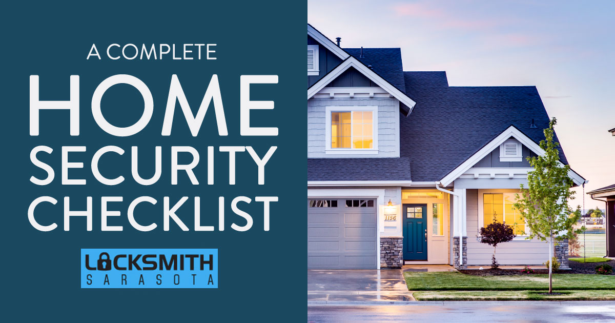 Locked And Secure: A Complete Home Security Checklist